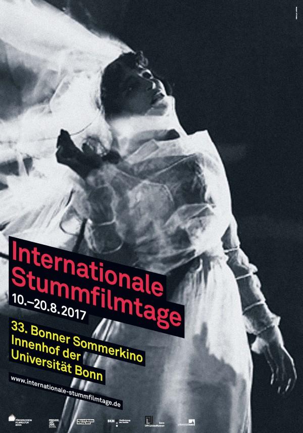 Int. Stummfilmtage 2017_Plakatmotiv
