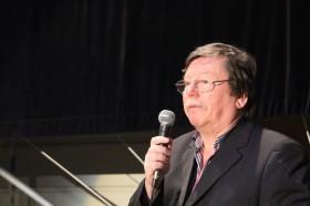 Joachim Bärenz bei der Ad-Hoc-Preisverleihung 2013