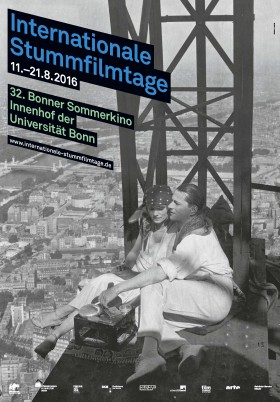Plakat der 32. Internationale Bonner Stummfilmtage
