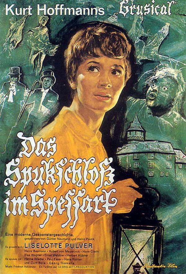 Das Spukschloß im Spessart (1960) - Filmplakat